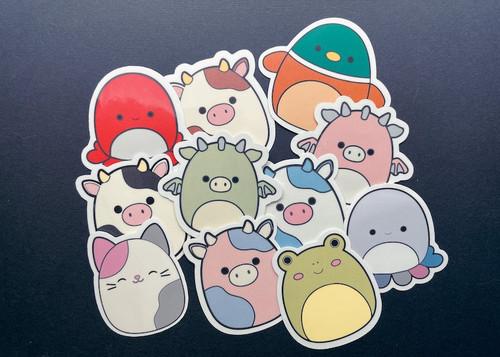 Squishmallow Vinyl Sticker