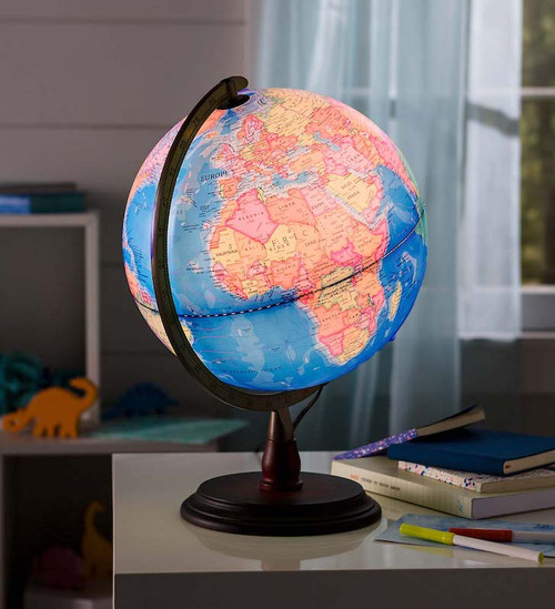 Light-Up World Globe
