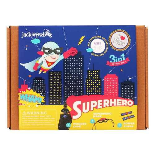 Superhero Activity Box