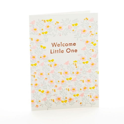 Welcome Little One Notecard