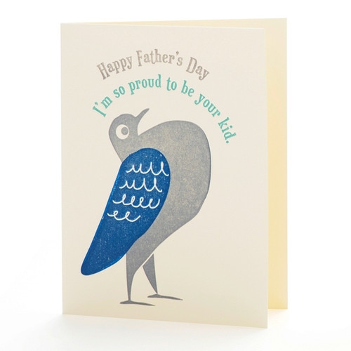 Pigeon's Father's Day Card