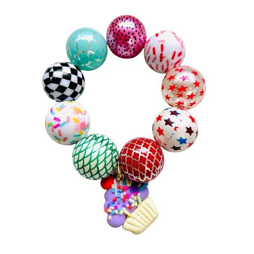 Cupcake Bubblegum Bracelet