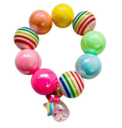 Rainbow Unicorn Bubblegum Bracelet