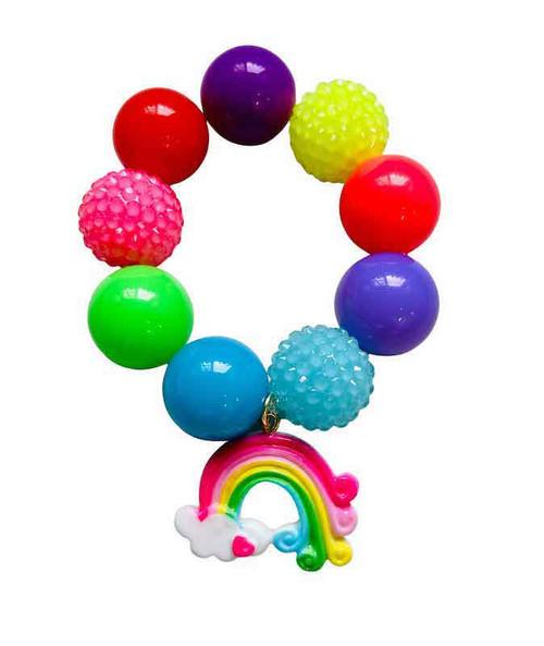 Rainbow Bubblegum Bracelet