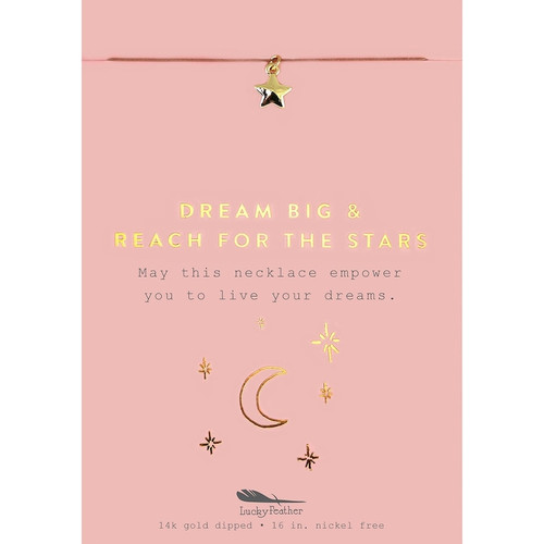 Dream Big Star Necklace