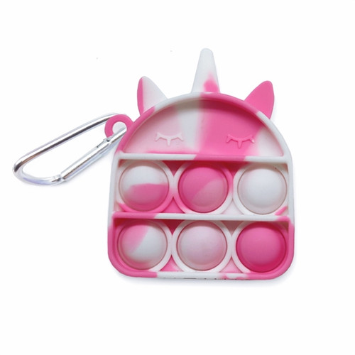 Unicorn Pop Fidget Key Chain
