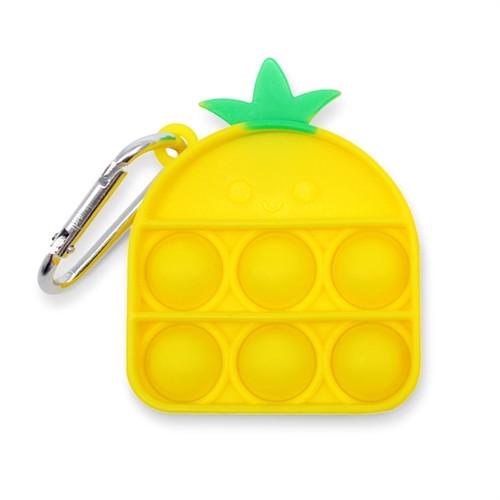 Pineapple Pop Fidget Key Chain