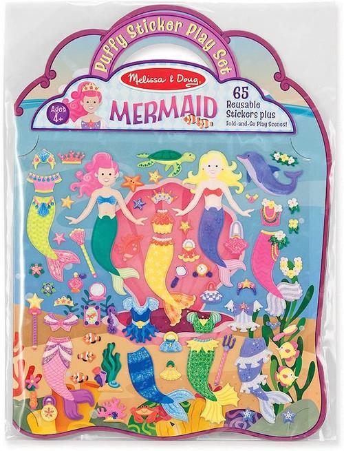 Puffy Sticker Playset: Mermaid