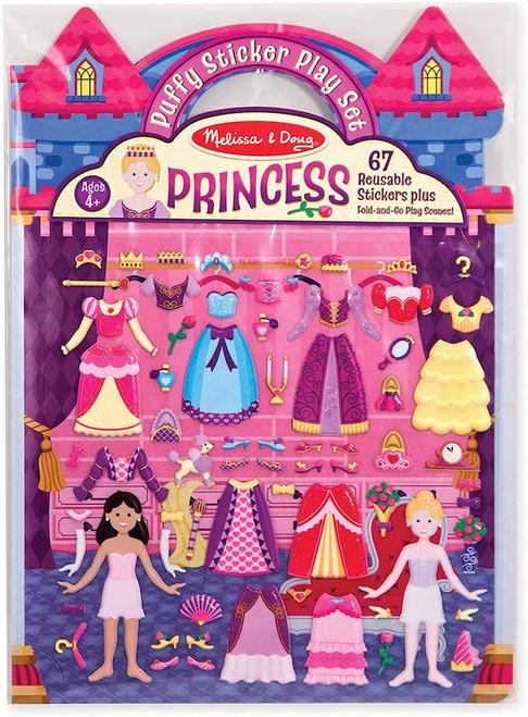 Puffy Sticker Playset: Princess