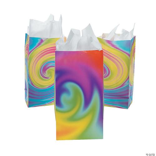 Tie Dye Party Favor Bag