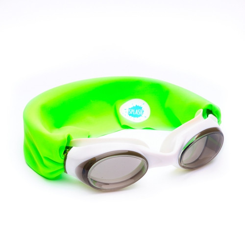 Neon Green Swim Goggles