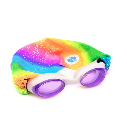 Rainbow Sparkles Swim Goggles