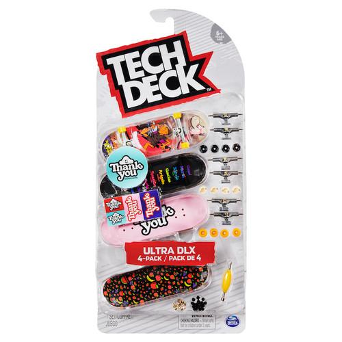 Tech Deck Fingerboard 4 Pack