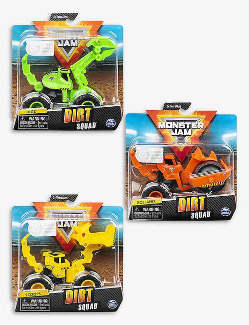 Monster Jame Dirt Squad