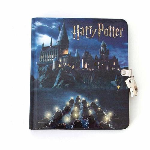Hogwarts at Night Lock & Key Diary