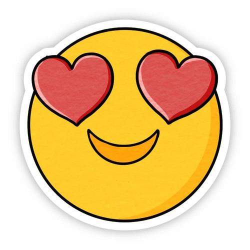 Heart Emoji Vinyl Sticker