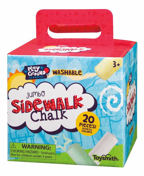 Jumbo Sidewalk Chalk Box