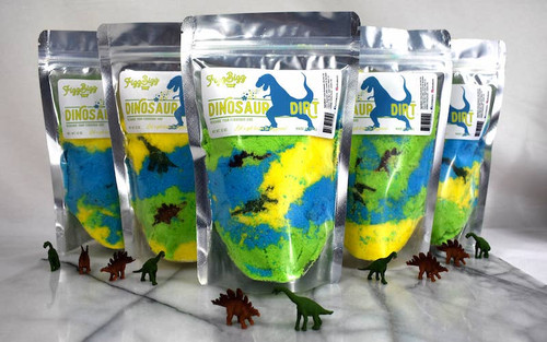 Dino Dirt Kids Bath Salts