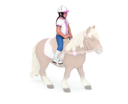 Riding Child Figure