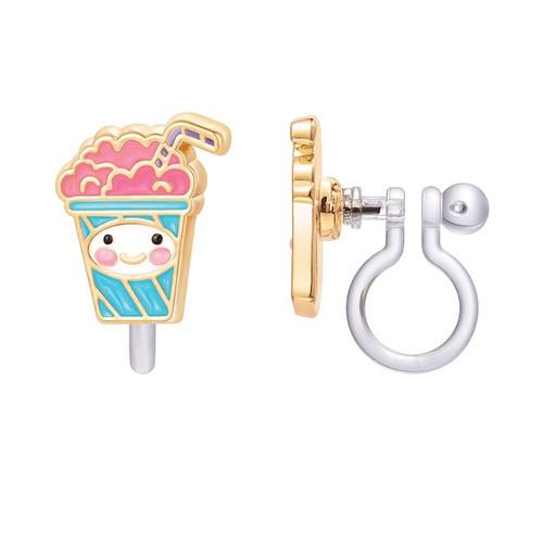 Milkshake Clip On Earrings