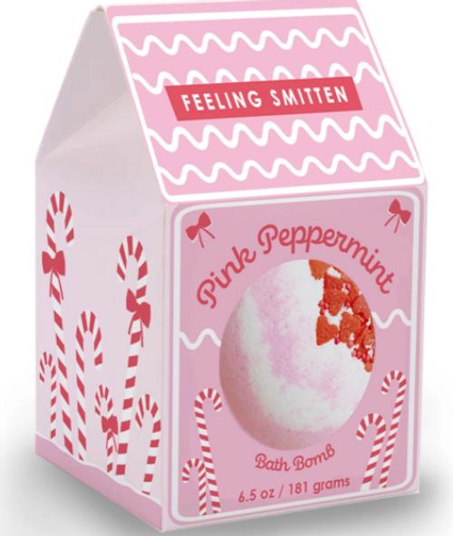 Pink Peppermint Bath Bomb