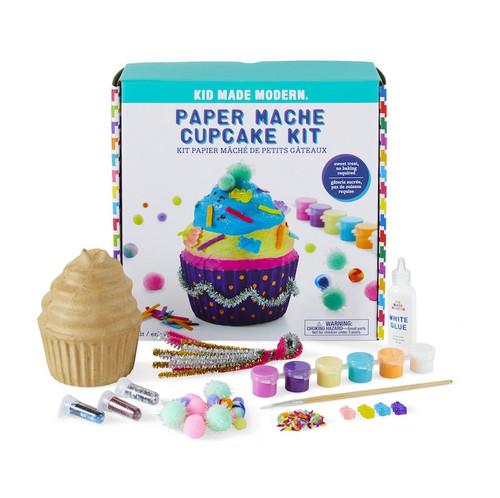 Paper Mache Cupcake Kit