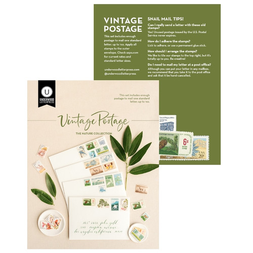 Vintage Postage Nature Collection