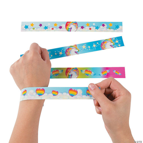 Unicorn Rainbow Slap Bracelet
