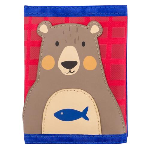 Bear Velcro Wallet