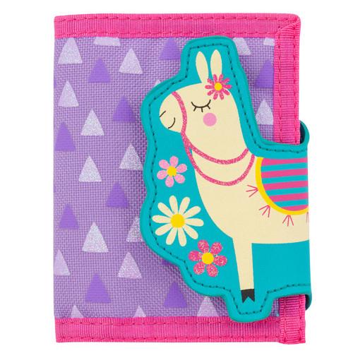Llama Velcro Wallet