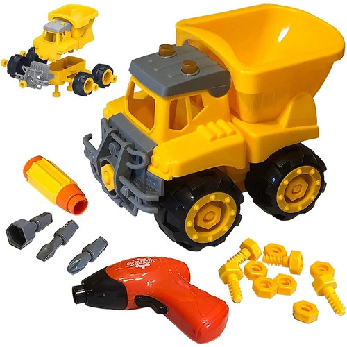 Build & Play Dump Truck