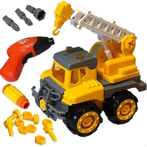 Build & Play Crane Truck