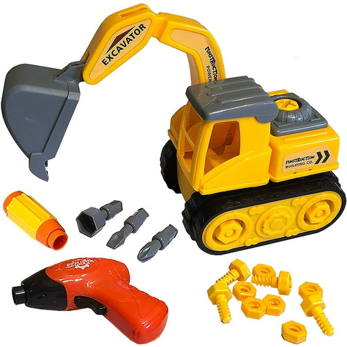 Build & Play Excavator