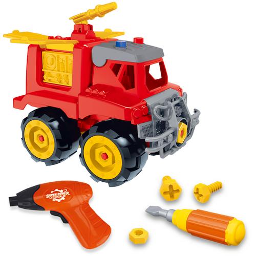 Build & Play Fire Truck