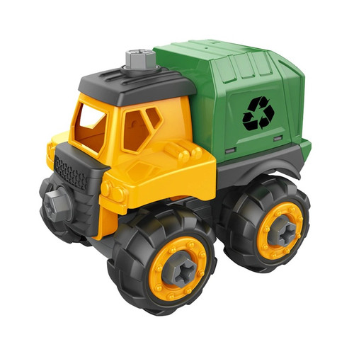 Build & Play Garbage Truck