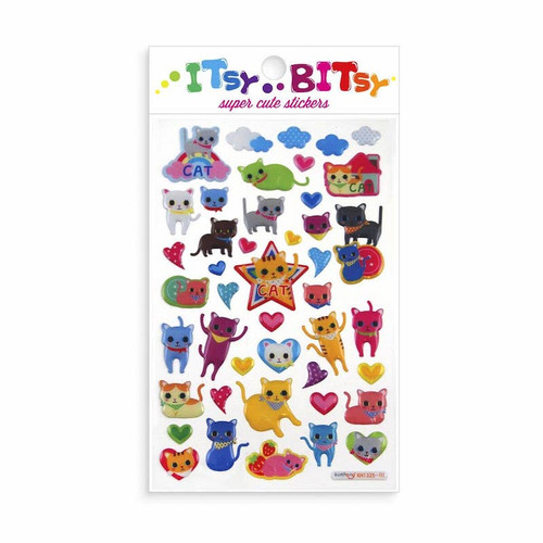 Itsby Bitsy Stickers: Cat