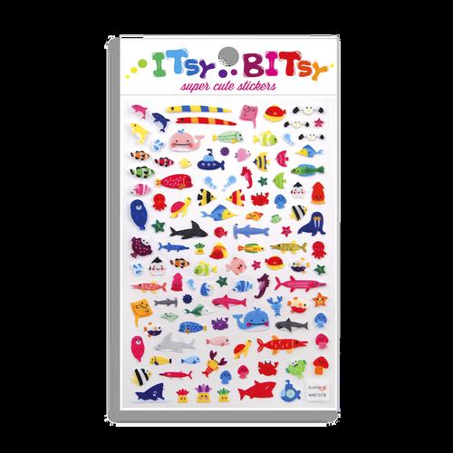 Itsy Bitsy Stickers: Sea Life