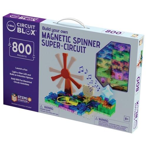 Magnetic Spinner Super Circuit Kit