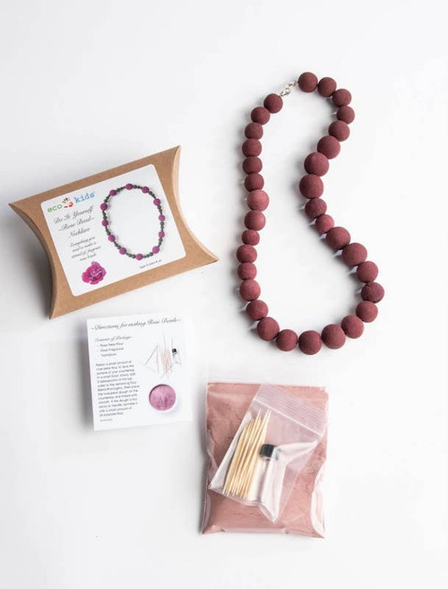 Make Your Own Rose Bead Necklace Kit