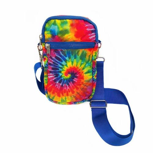 Tie Dye Puffer Bag