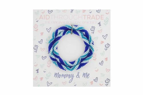 Mommy & Me Roll-On Bracelets Blue
