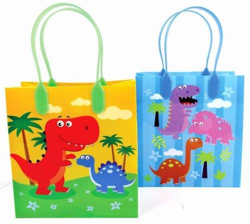 Dino Party Favor Bag