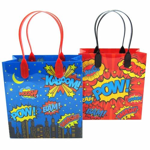 Super Hero Party Favor Bag