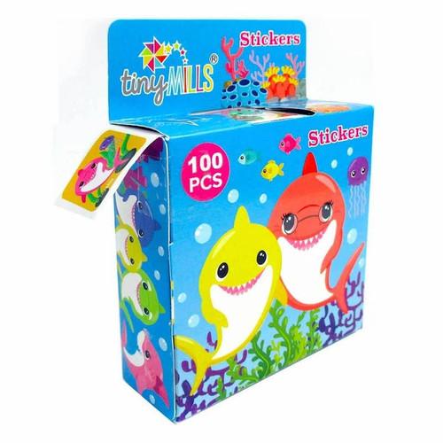 Shark Sticker Box
