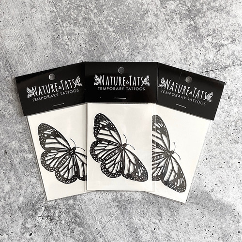 Monarch Butterfly Temporary Tattoo