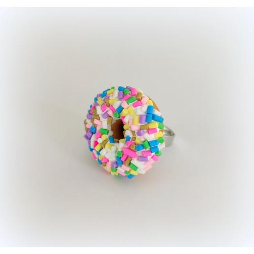 Sprinkle Donut Ring