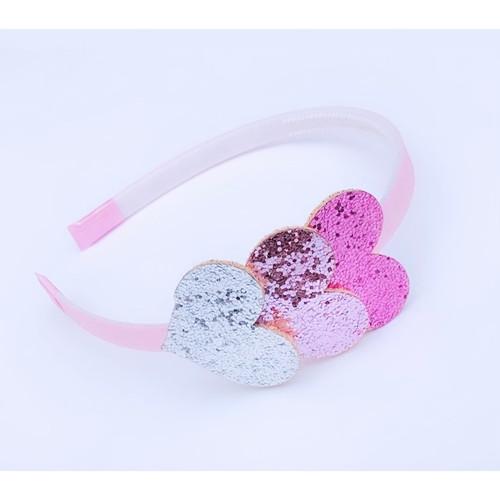 Triple Heart Headband