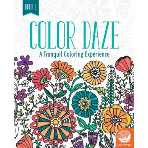 Color Daze Coloring Book 1