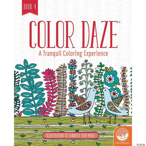 Color Daze Coloring Book 4