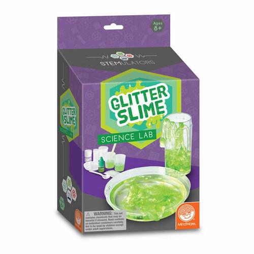 Glitter Slime Science Lab